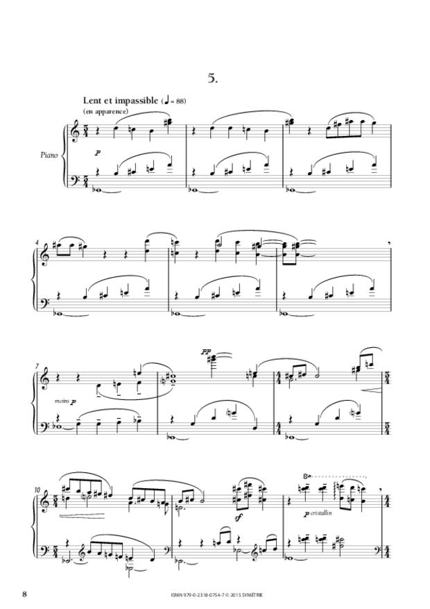 Cinq Préludes, extrait 3