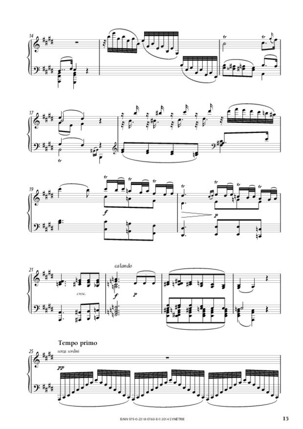 Grande Sonate en ut, extrait 4