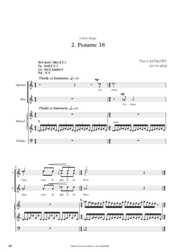 Trois Psaumes, extrait 3