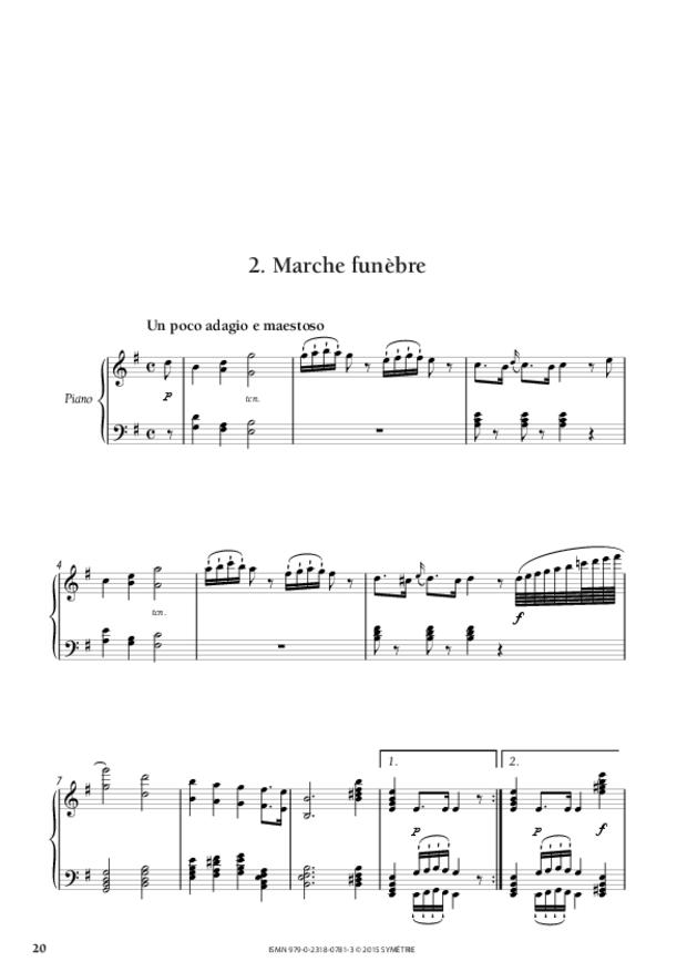 Sonate en ré, extrait 4