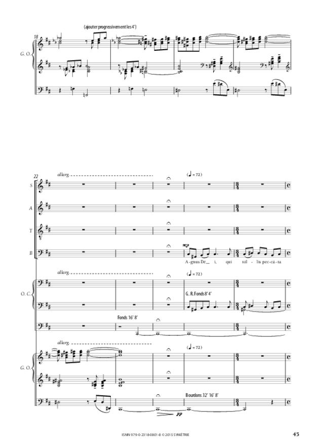 Messe «Salve Regina», extrait 10