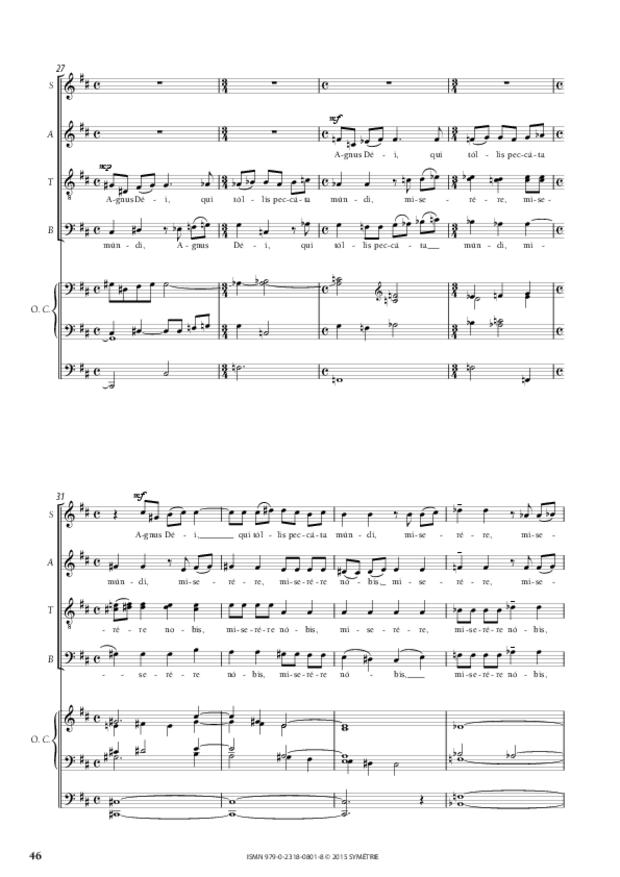Messe «Salve Regina», extrait 11