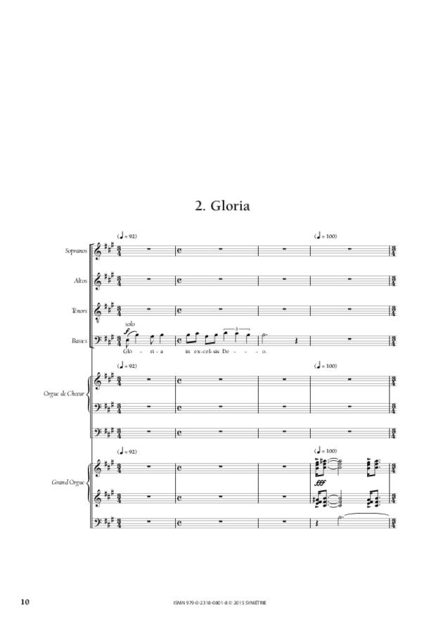 Messe «Salve Regina», extrait 3