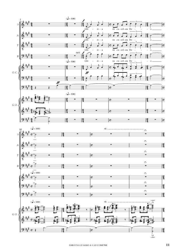 Messe «Salve Regina», extrait 4