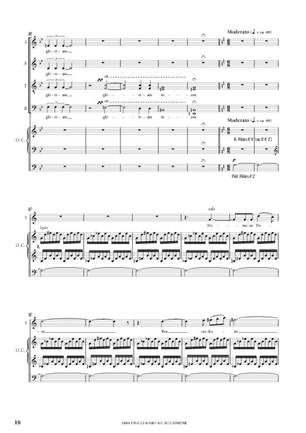 Messe «Salve Regina», extrait 6