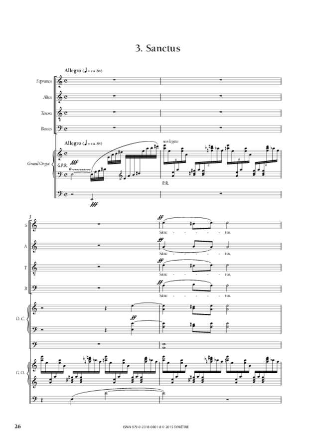 Messe «Salve Regina», extrait 7