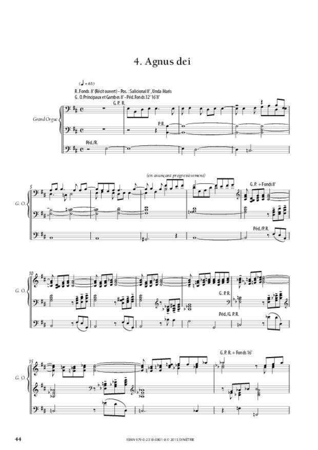 Messe «Salve Regina», extrait 9