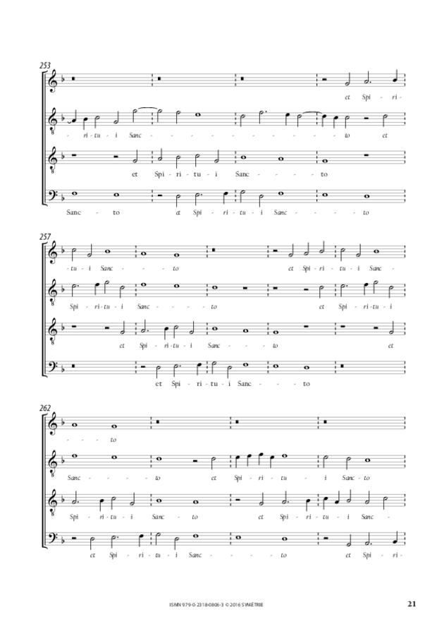 Magnificat du premier ton, extrait 3