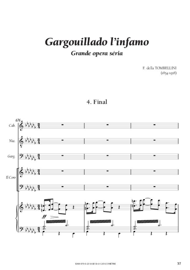 Gargouillado l'infamo, extrait 14