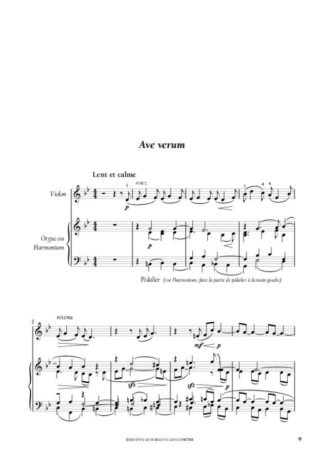 Trois Motets, extrait 3