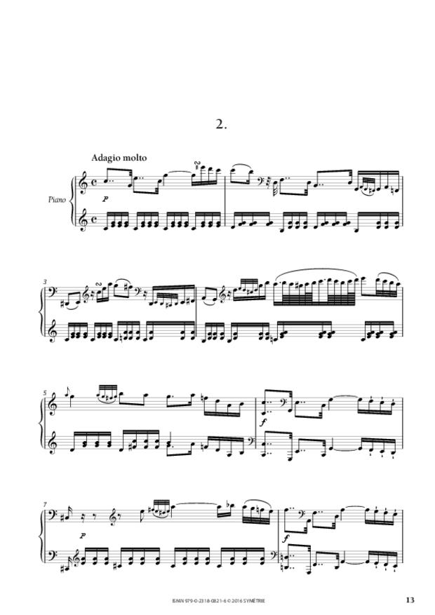 Sonate en sol majeur op.46, n°1, extrait 3