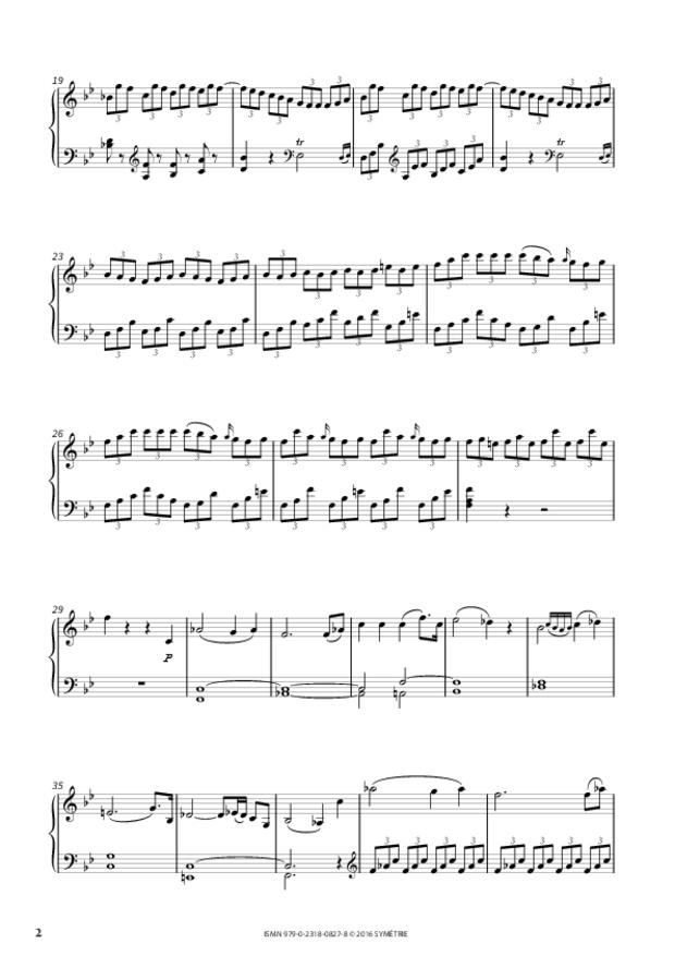 Sonate en si bémol majeur op.46, n°2, extrait 2
