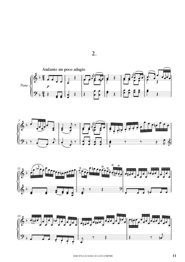 Sonate en si bémol majeur op.46, n°2, extrait 3