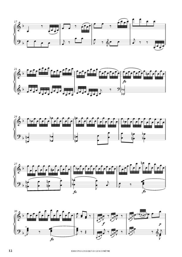 Sonate en si bémol majeur op.46, n°2, extrait 4