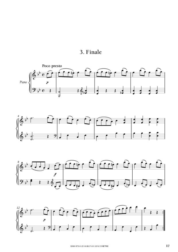 Sonate en si bémol majeur op.46, n°2, extrait 5