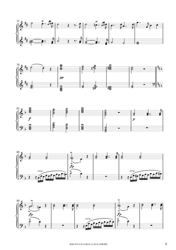 Fantaisie sur un thème de Frescobaldi, extrait 2