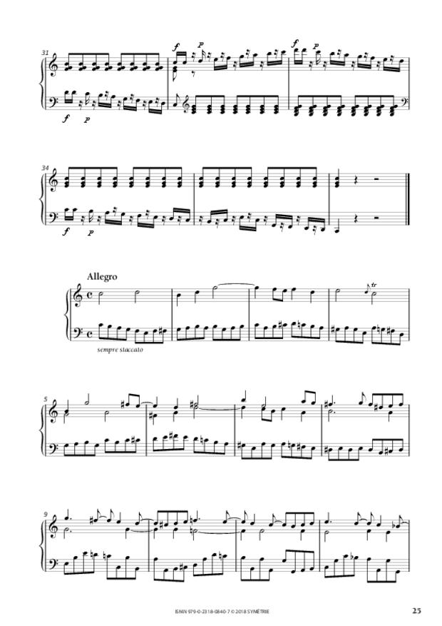 34 Études dans le genre fugué op. 97, extrait 4
