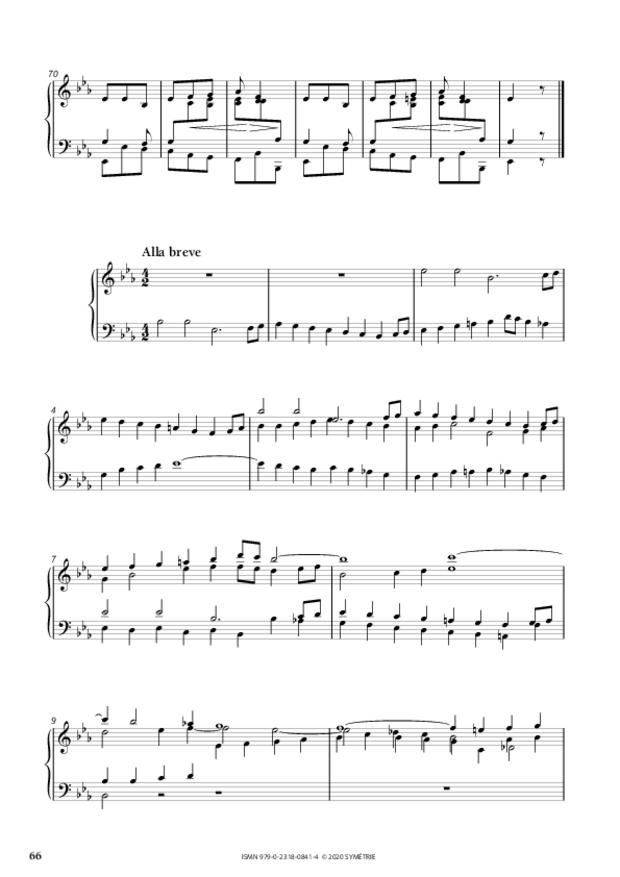 34 Études dans le genre fugué op. 97, extrait 12
