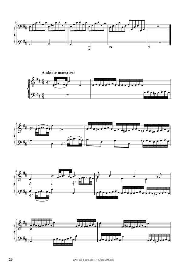 34 Études dans le genre fugué op. 97, extrait 5