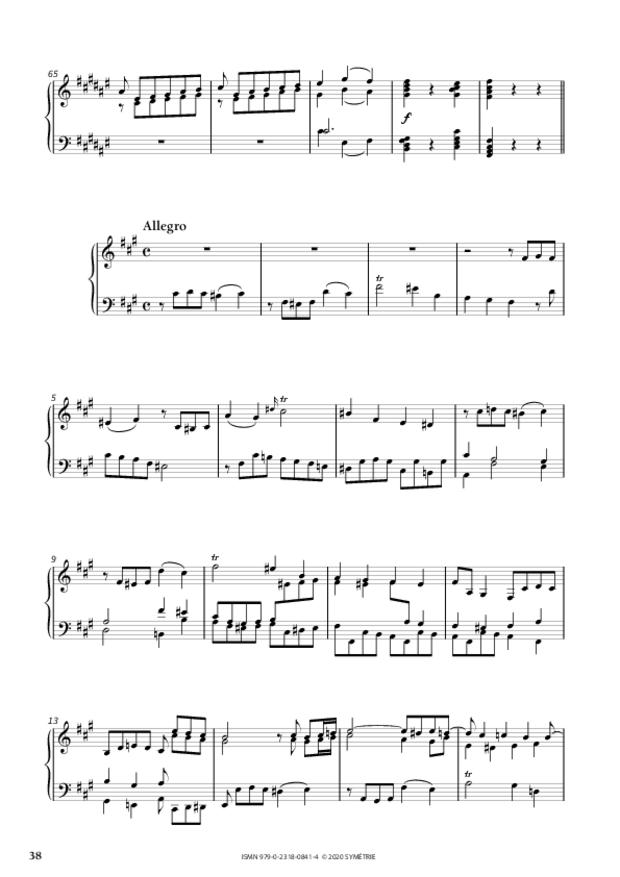34 Études dans le genre fugué op. 97, extrait 8