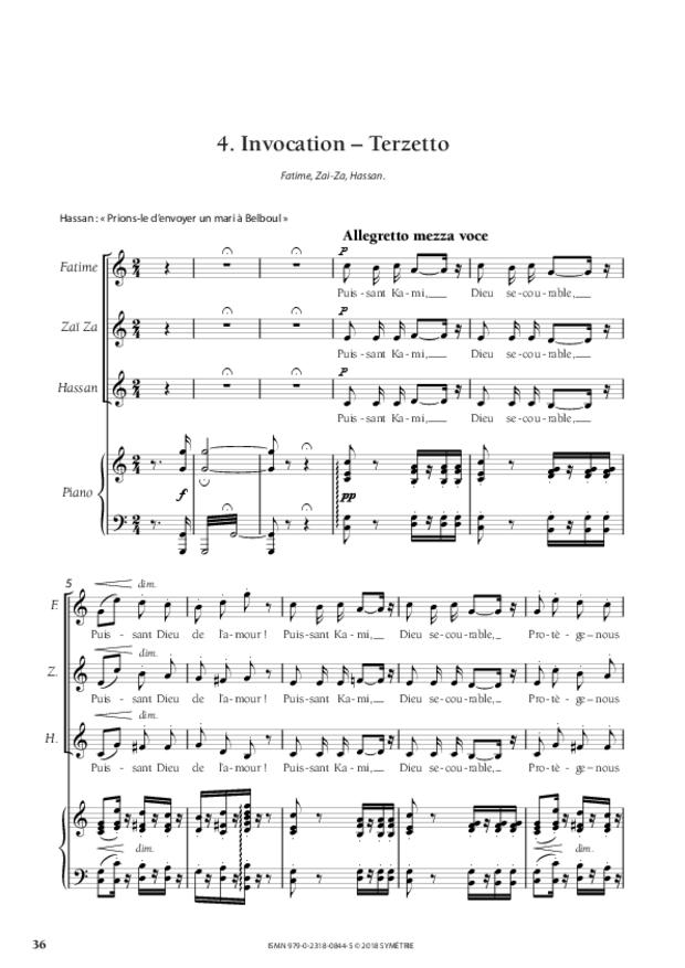 L'Adorable Belboul, extrait 6