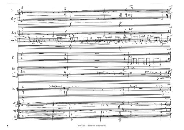 Correspondances avec instruments, extrait 3