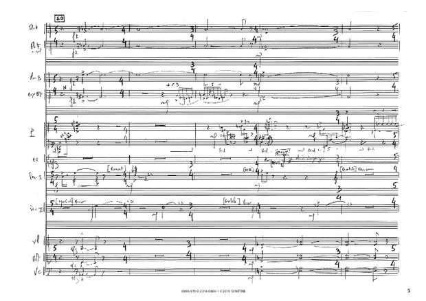 Correspondances avec instruments, extrait 4