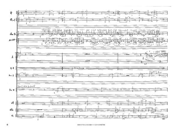 Correspondances avec instruments, extrait 5