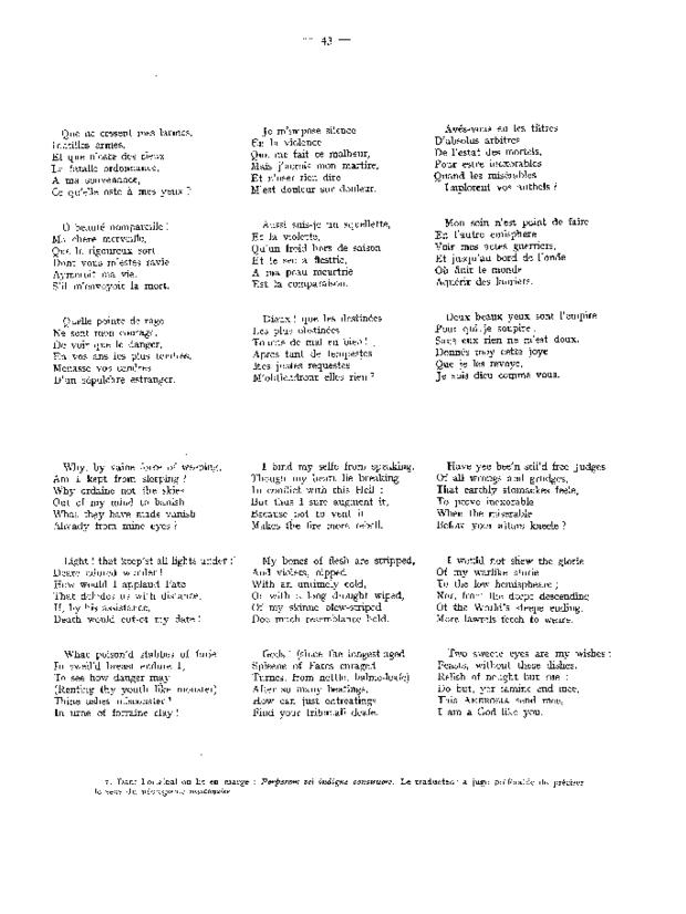 Airs de cour pour voix et luth, extrait 4