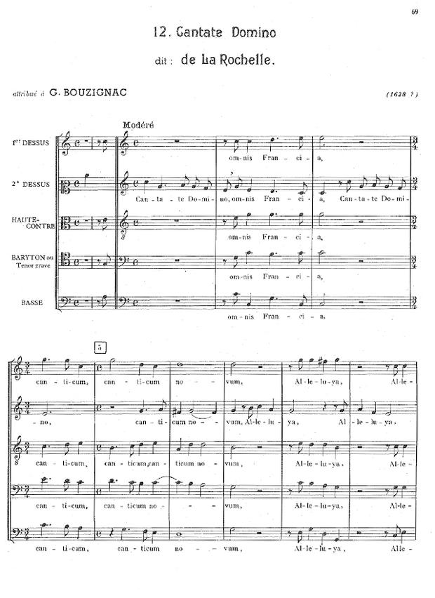 Anthologie du motet latin polyphonique en France, extrait 5