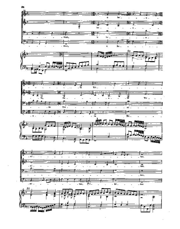 Treize Motets et un prélude pour orgue, extrait 5