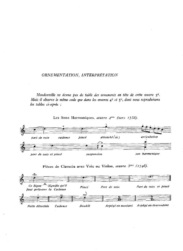 Pièces de clavecin en sonates avec accompagnement de violon, extrait 3