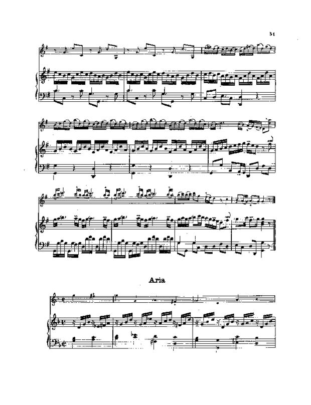 Pièces de clavecin en sonates avec accompagnement de violon, extrait 6