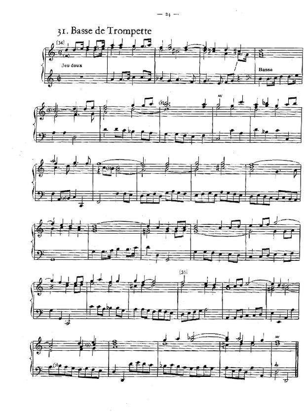 Petites pièces d'orgue, extrait 4