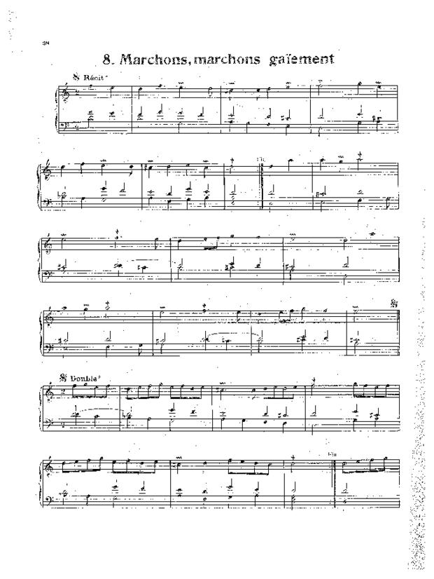 Livre de noëls variés pour orgue, extrait 3
