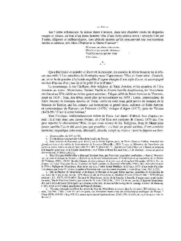 Chansonnier de Jean de Montchenu, extrait 3