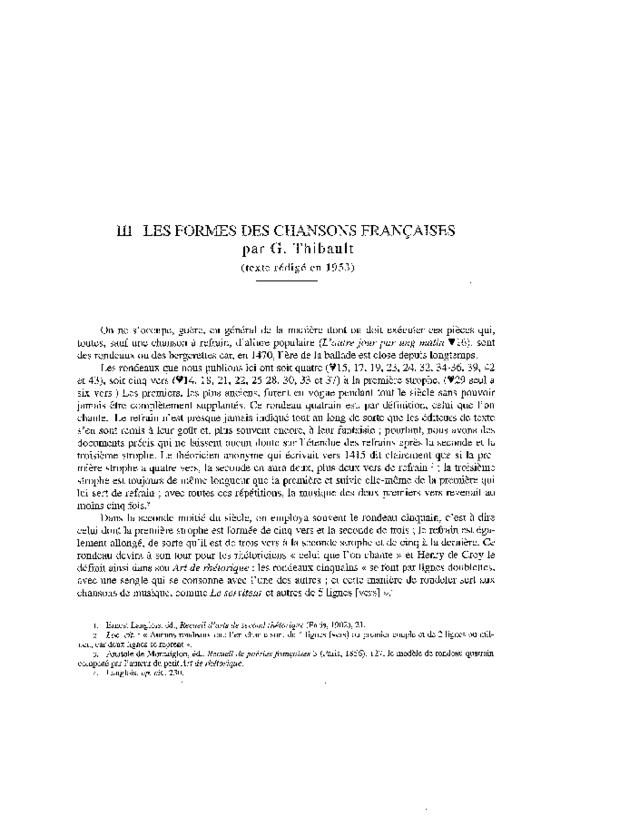 Chansonnier de Jean de Montchenu, extrait 4