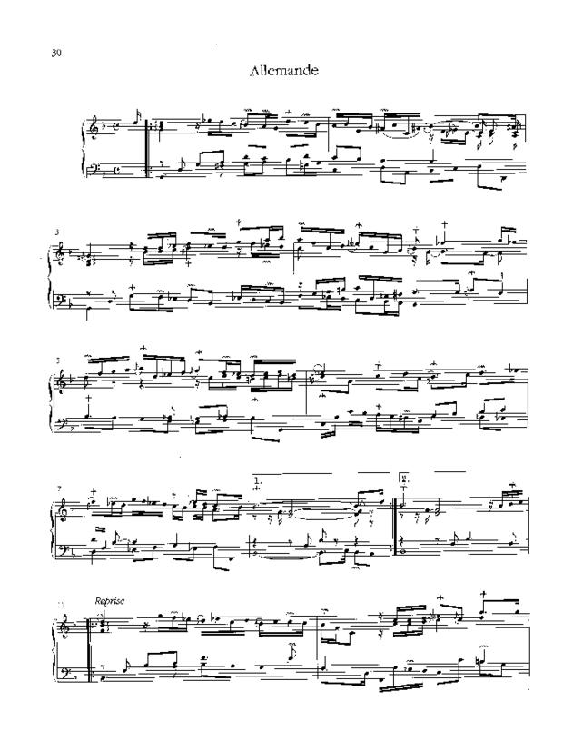 Pièces de clavecin, extrait 5