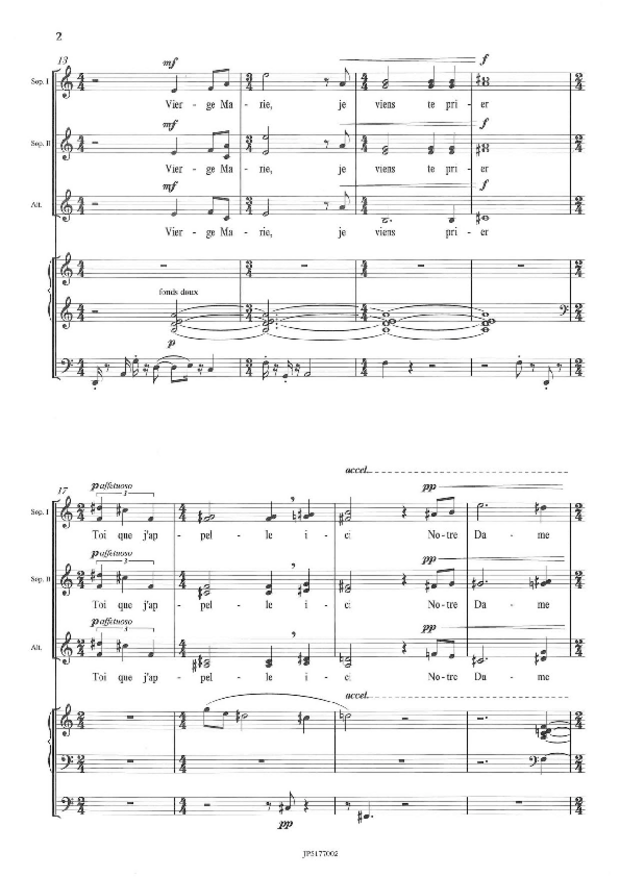 Prière à Notre-Dame de la Garde, extrait 2