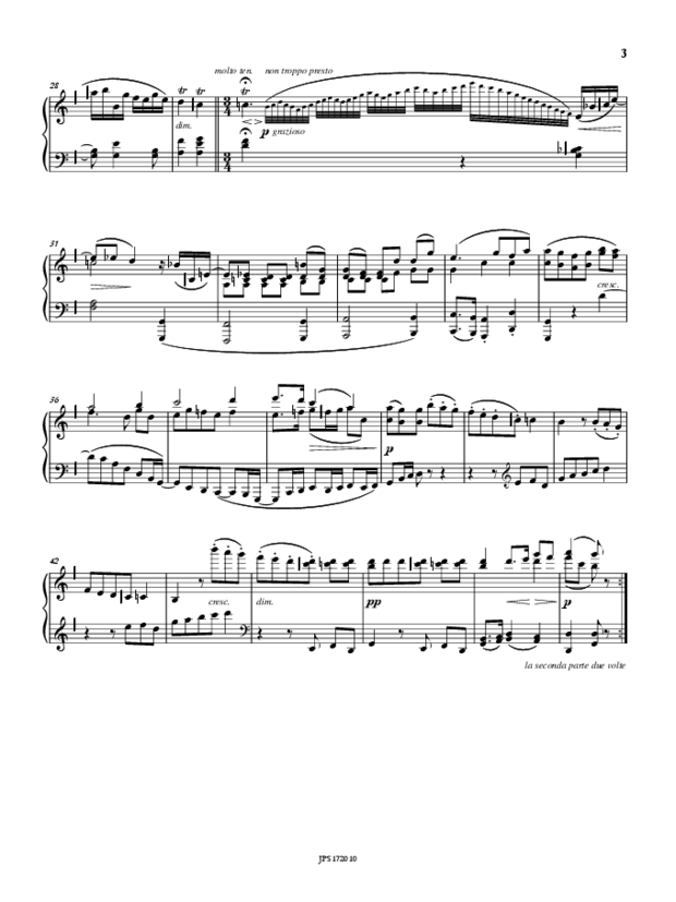 Bagatelles op. 126 & Other Pages, extrait 2
