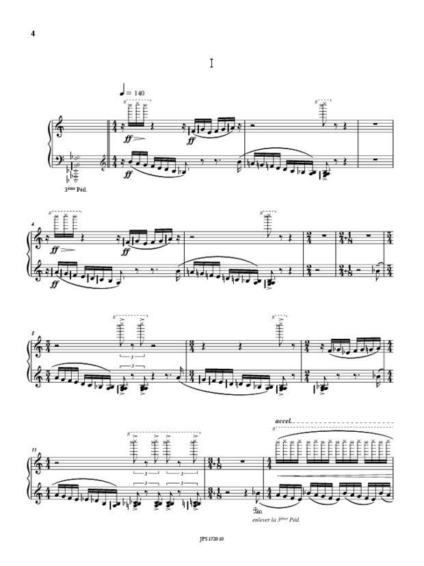Bagatelles op. 126 & Other Pages, extrait 3