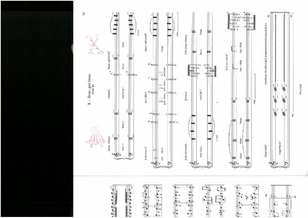 Le Piano symétrique, extrait 3