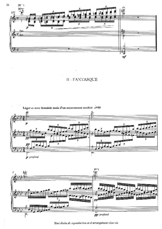 Aube, Sonate d'été, extrait 4