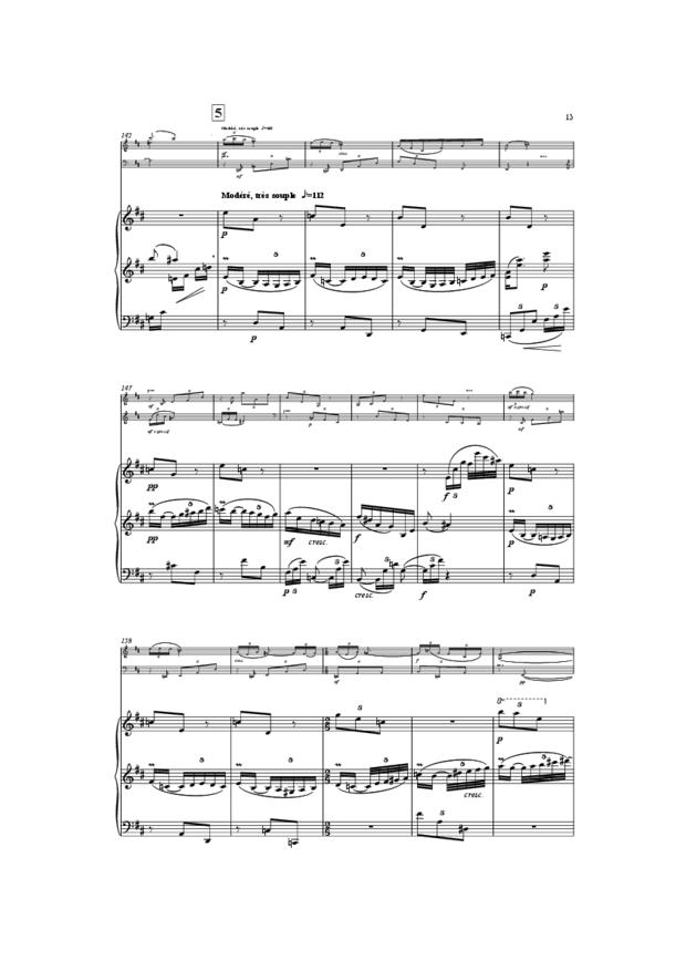 Trio, extrait 13
