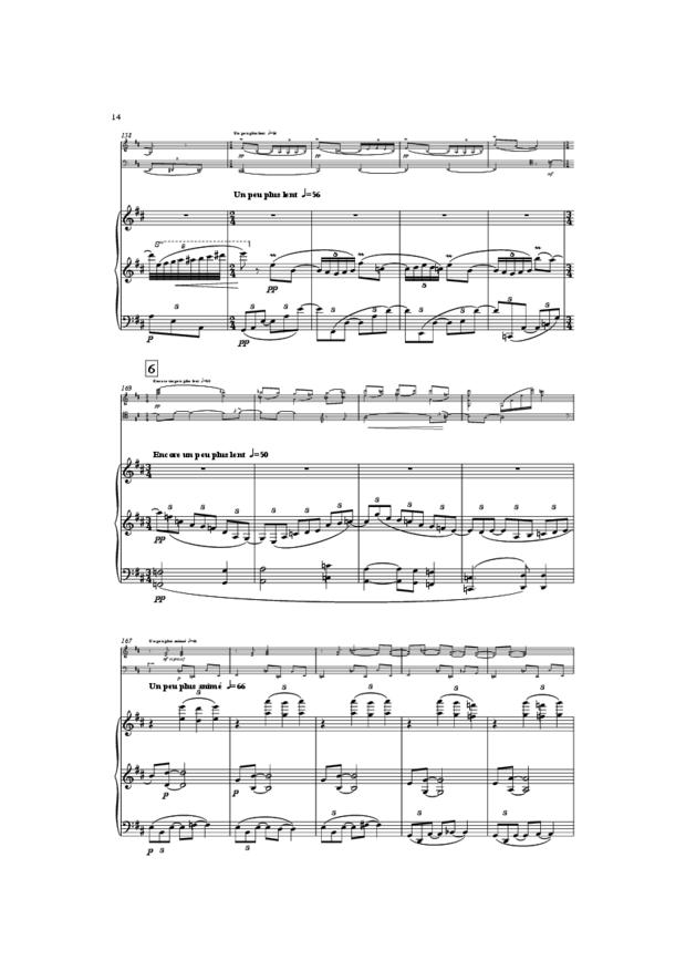 Trio, extrait 14