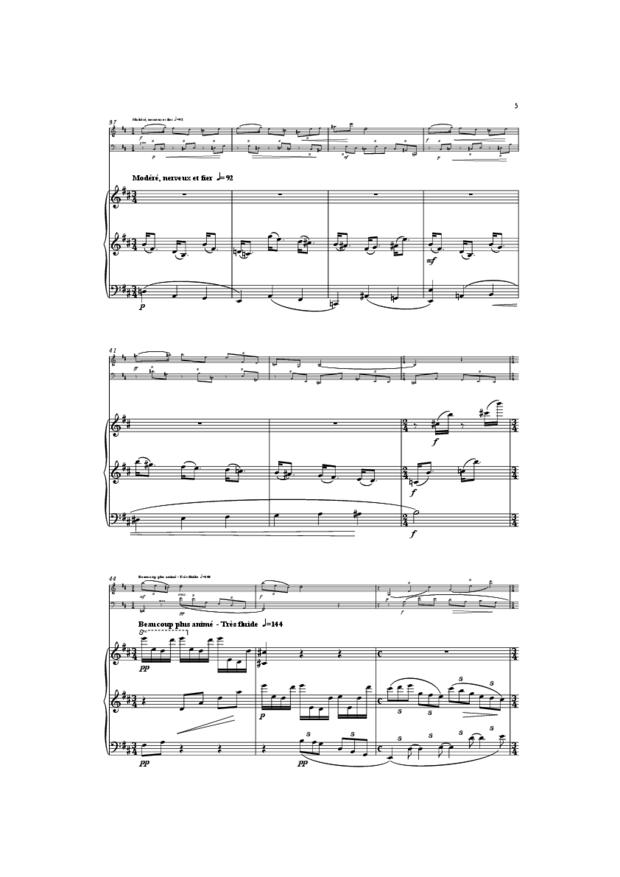 Trio, extrait 5