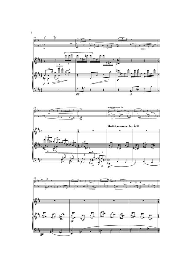 Trio, extrait 6
