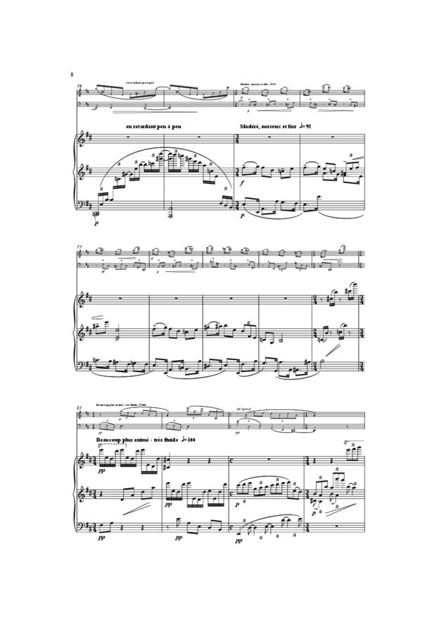 Trio, extrait 8
