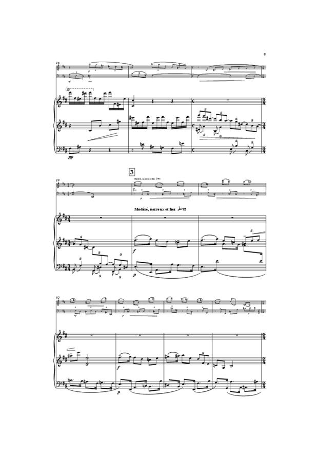 Trio, extrait 9