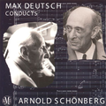 (couverture de Max Deutsch conducts Arnold Schönberg)